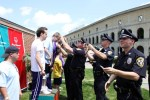 Boston College Police Department at the Special Olympics